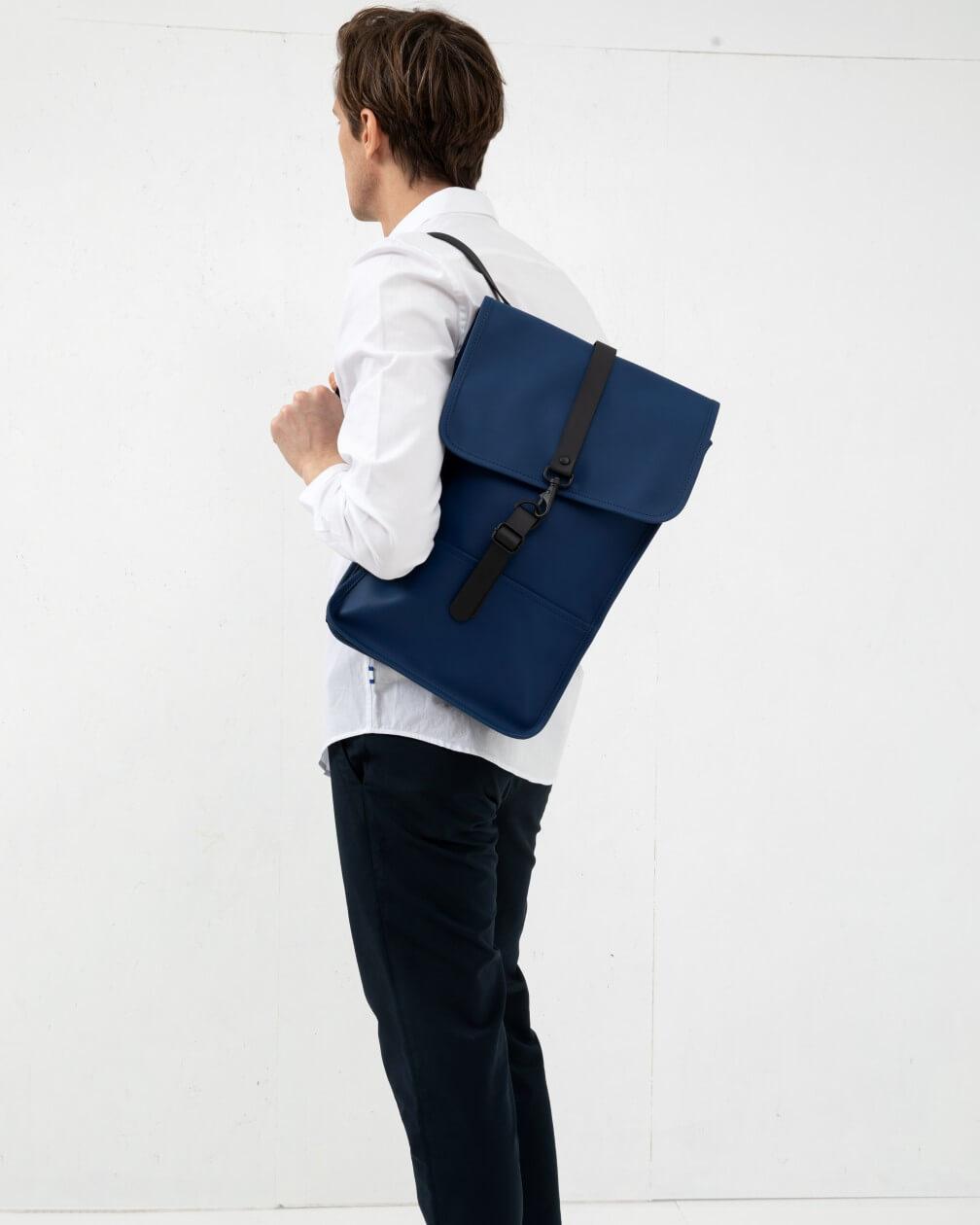 Backpack mini Rains bleu