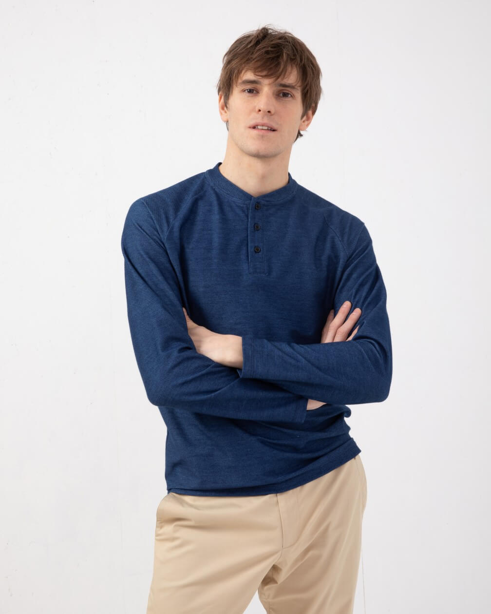 T-shirt henley ambroise