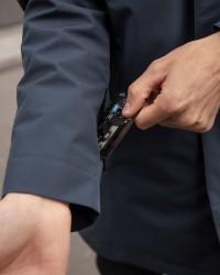 Imperméable Elon Bleu gris