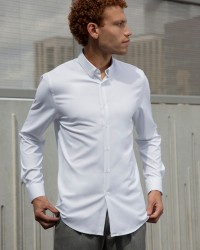 Chemise Odeon tech blanche
