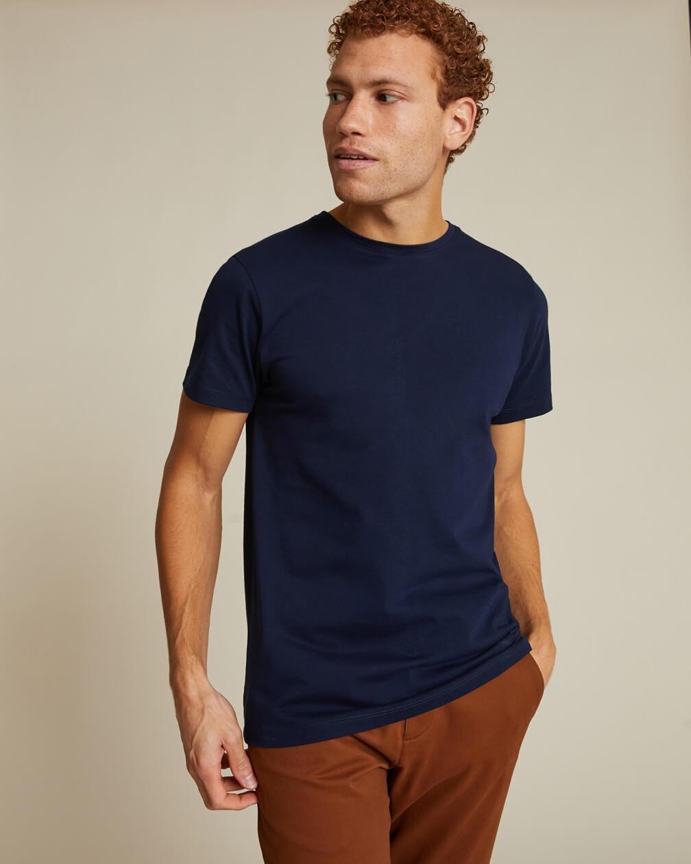 T-shirt Villette marine