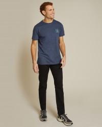 T-shirt Villette x Thomas Lateur bleu