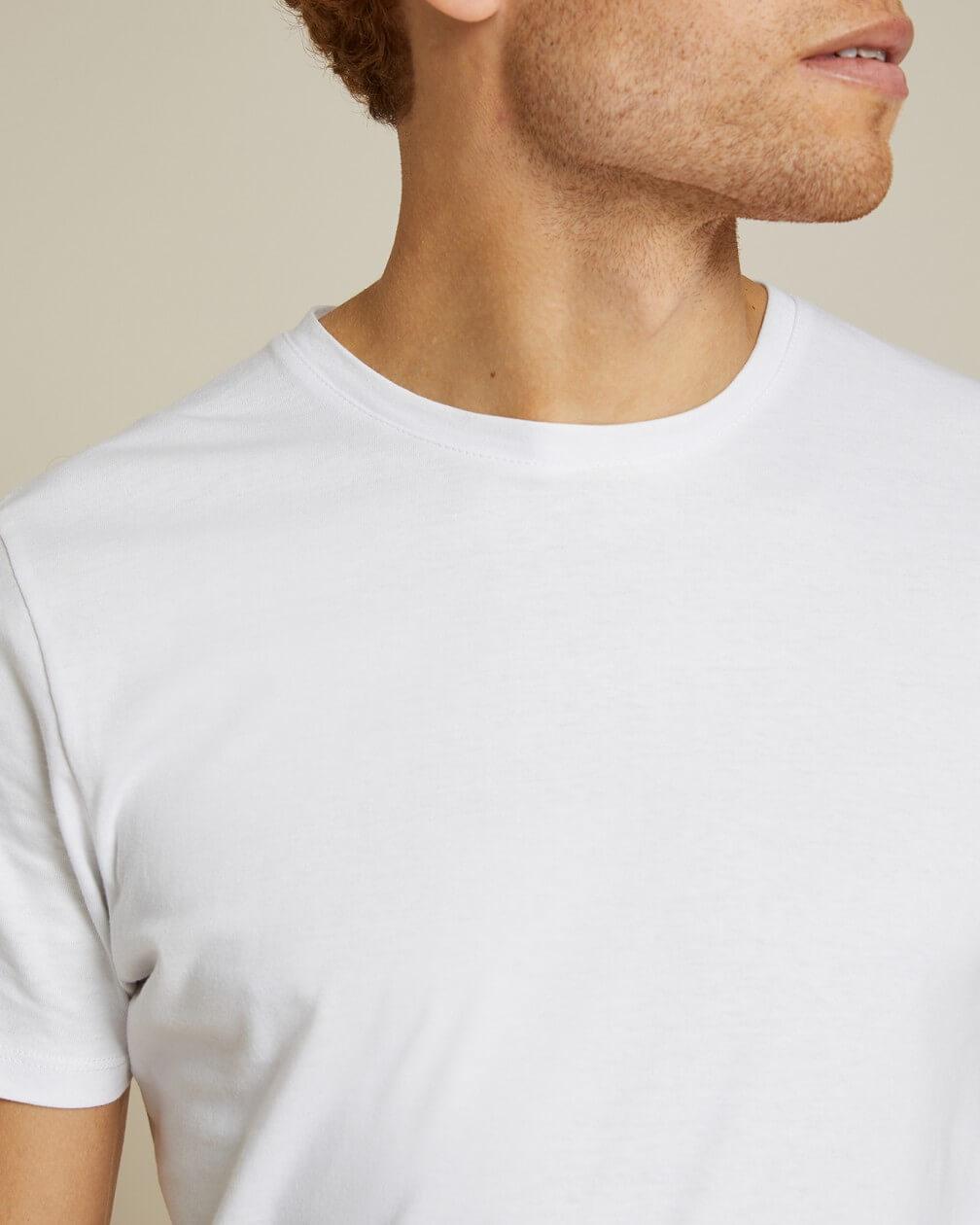 T-shirt Villette blanc en coton