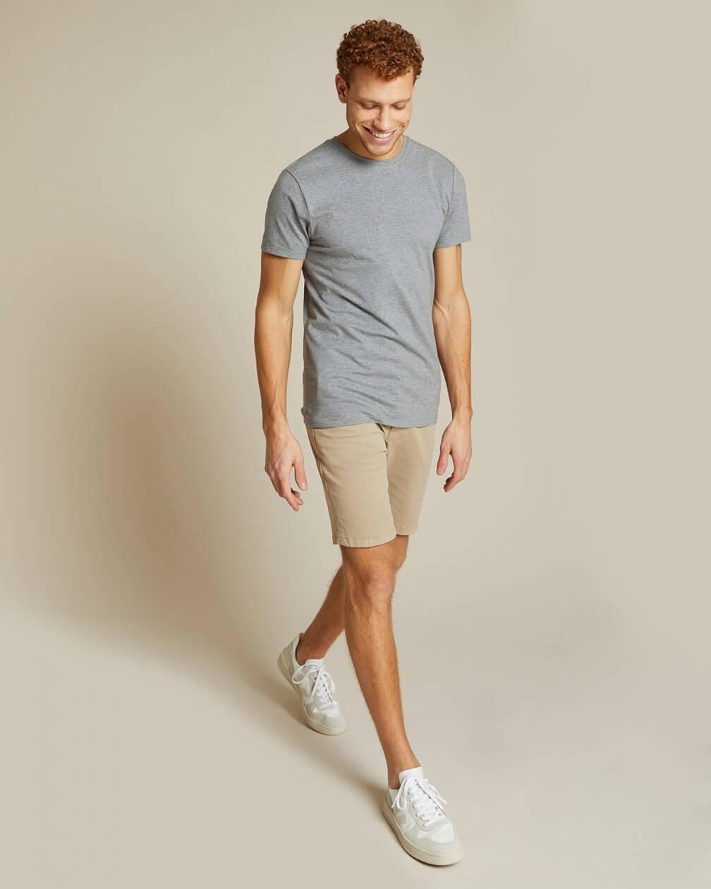 T-shirt Villette gris en coton