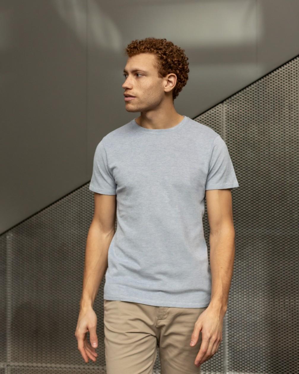 T-shirt Valdes en coton piqué