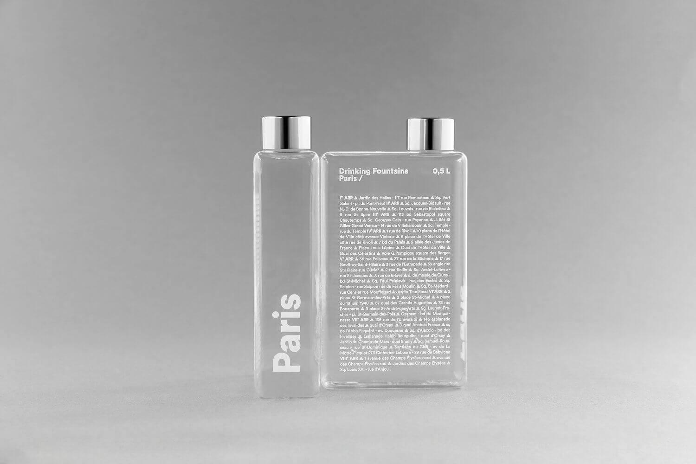Phil the bottle - Fontaines à Paris