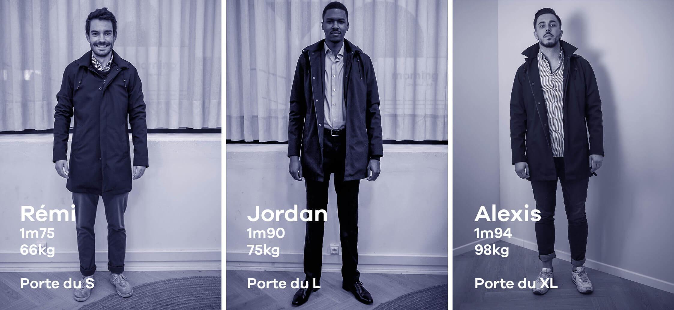 Manteau imperméable Elon - Adresse Paris