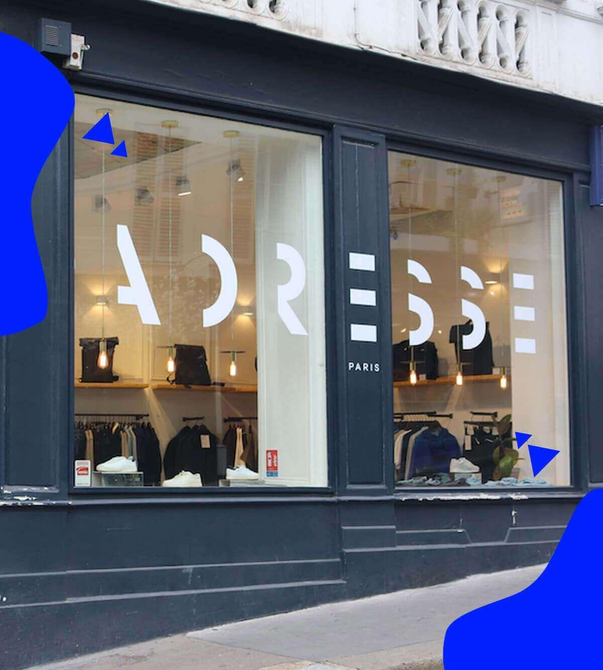 Boutiques Adresse Paris
