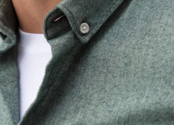 zoom col chemise en flanelle